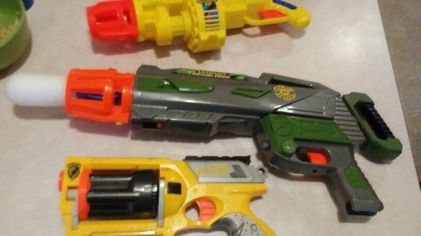 New Nerf Gun Set
