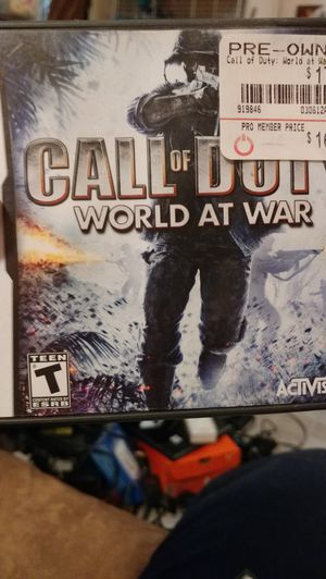 Call of Duty World of War for ds