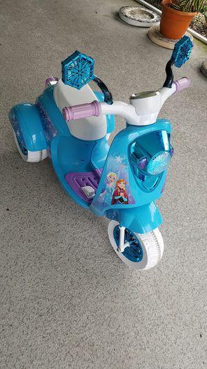 6V Disney Frozen 3Wheel Scooter