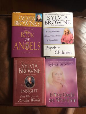 Set of 4 Sylvia Browne Books