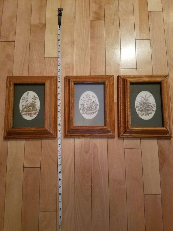 Herbal Framed Kitchen Decor Household In Auburn Wa