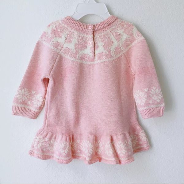 NWT GAP baby girl long sleeve sweater dress (Baby & Kids) in San ...