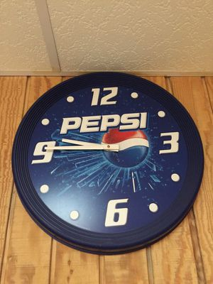 Pepsi limited edition clock