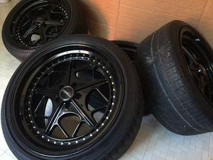 "5x100 18"" ARC Wheels Rims Tires Scion TC FRS BrZ Corolla"