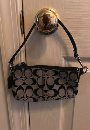 Coach Wristlet Purse Black