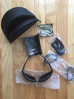 Wiley Sg-1 ballistic glasses New as pictured