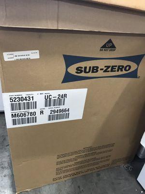 Sub zero mini fridge