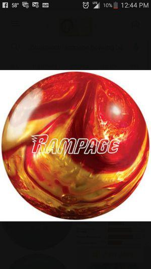 Brand new 15lb Brunswick Rampage bowling ball