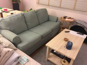 Awesome Green Hide-a-bed sofa couch