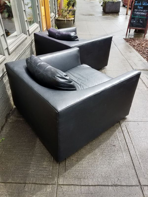 Mid Century Low Profile Club Cube Chairs Furniture In Seattle Wa Offerup