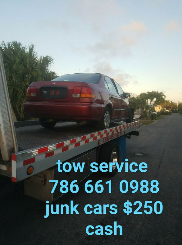 tow service junk cars (Cars & Trucks) in Miami, FL
