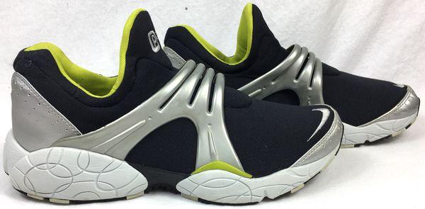 RARE 2000 Nike Presto Cage Black/Silver/White/Volt Green Men