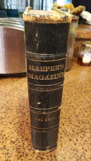 Harper's Magazine Volume 49 1874