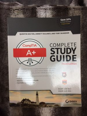 CompTIA A+ Complete Study Guide - Never Used