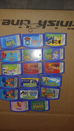 Leapster games $5 each