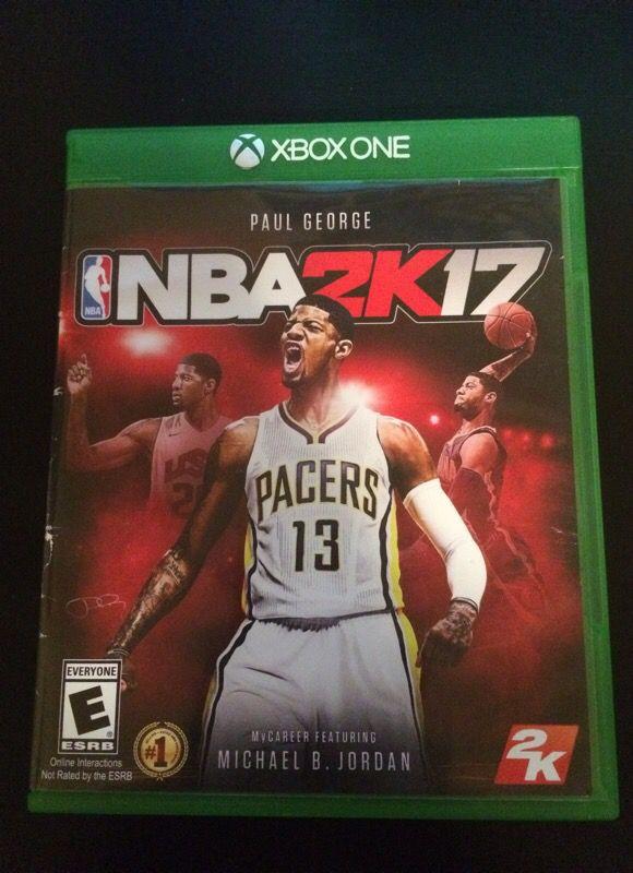 Nba 2k17 (includes gamestop 1 year warranty)