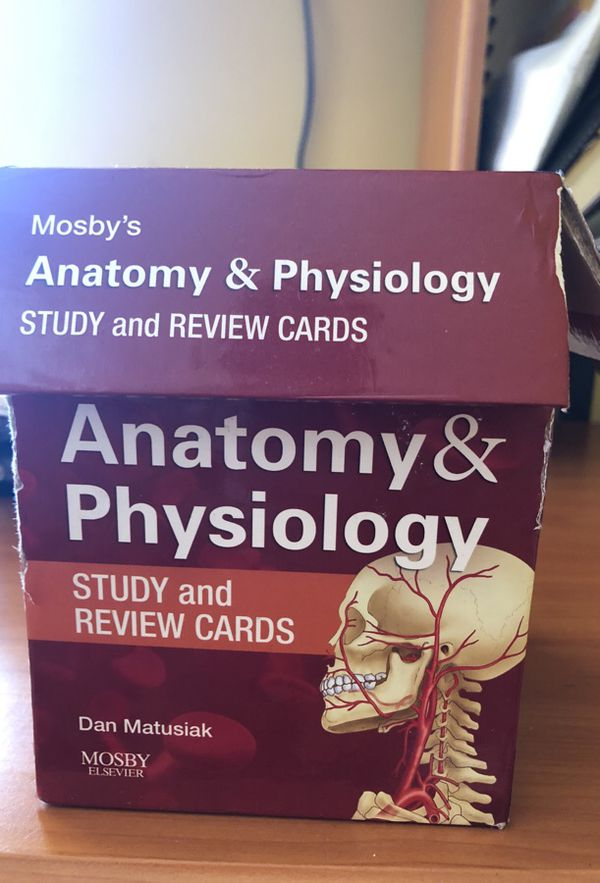 Anatomy and physiology study cards (Books & Magazines) in Union, NJ ...