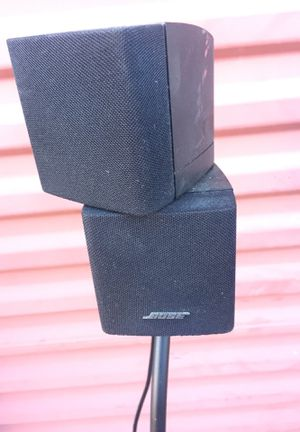 Bose Double Cube with Stand