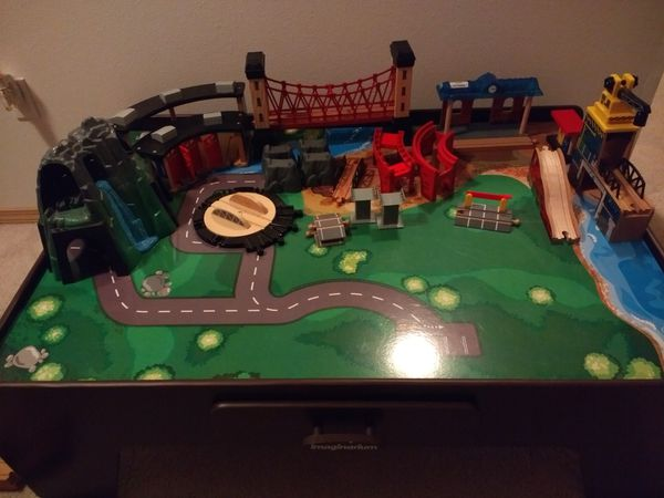 Imaginarium mountain rock train table (Games & Toys) in Rochester ...