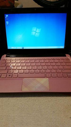 "Pink HP Netbook 11"""