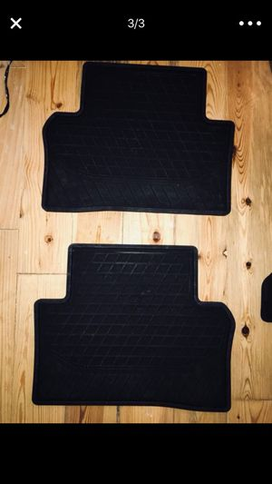2 Durable Mercedes Benz Matts for Car ( like New)
