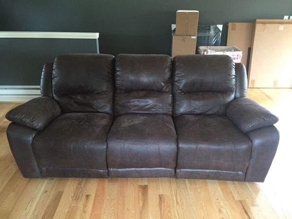 badass brown dania couch furniture in seattle wa offerup