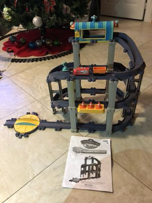 "LIKE NEW!!! Chuggington StormMaker Wilson""s Wild Ride Train Playset. 2 Foot High"