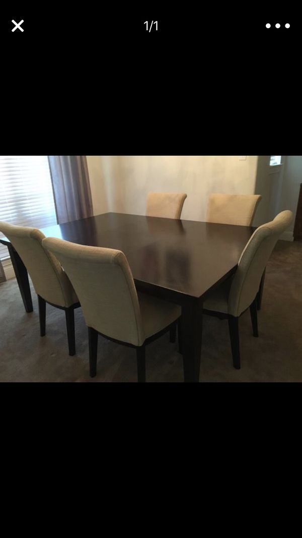 Large Dining Table With 5 Chairs From Ashley Furniture
