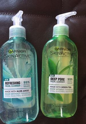 Garnier active skin facial wash 2