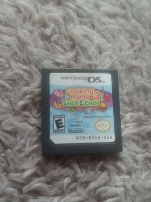 Cookimg mama 3 ds game