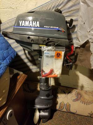 4hp Yamaha outboard 4stroke