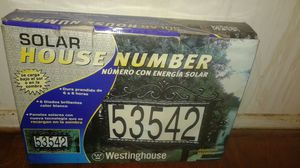 Solar house address