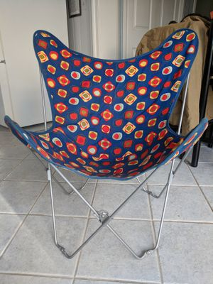 Child's Colorful Folding Chair