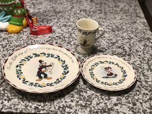 Disney 12 days of Christmas dinnerware set