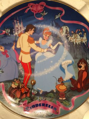 Cinderella Musical Plate by Bradford