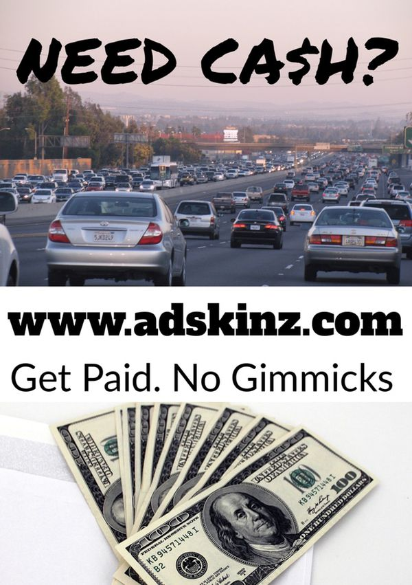 Get paid to drive with a decal advertising a local business cars trucks in jupiter fl