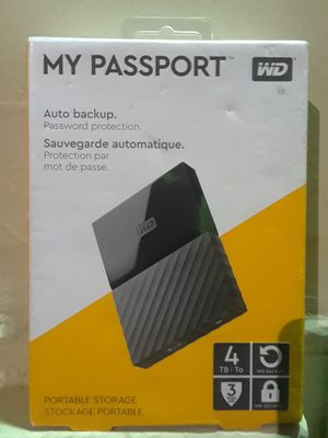 My Passport 4TB * Brand New*