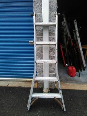 10 foot folding ladder aluminium 40