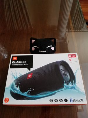JBL Charge 3 Bluetooth Speaker Black Like New Condition