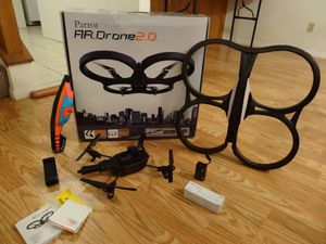 PARROT AR DRONE - CONTROL IT WITH YOUR SMART PHONE - LIKE NEW