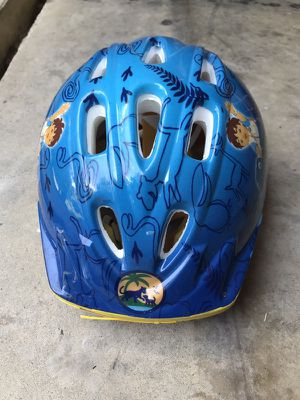 Boy bike helmet