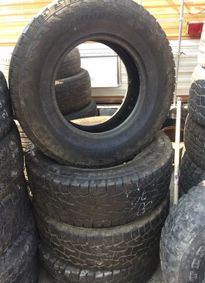 Terren Set | 255 50 16 Set Of 2 Tires Auto Parts In Mcclellan Park Ca Offerup