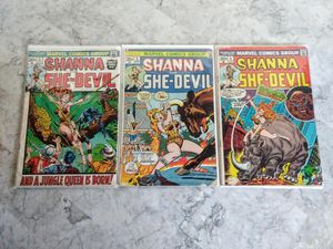 Comic Book Lot - Shanna the She Devil
