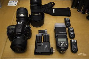 Nikon D610 whole set