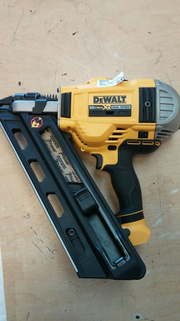 Dewalt cordless nail gun 20V MAX XR (Tools & Machinery) in Mesa, AZ ...
