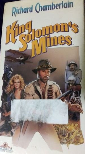 """King Solomon's Mines """"VCR/VHS Movies"""""""