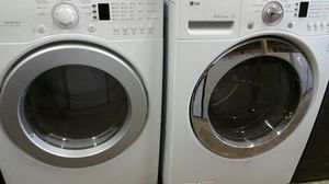Washer and Dryer LG Front Load