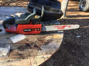 "Homelite Dx 16"" chainsaw"
