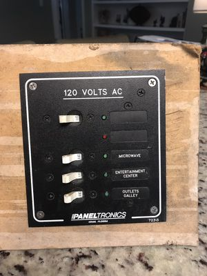 Boat electrical panel
