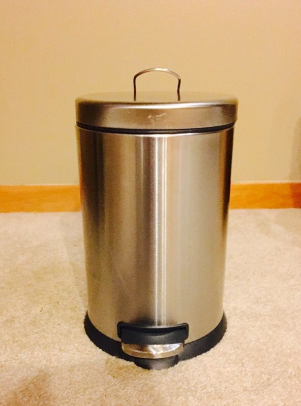 Stainless Steel Step Trash Can Household In Seattle Wa